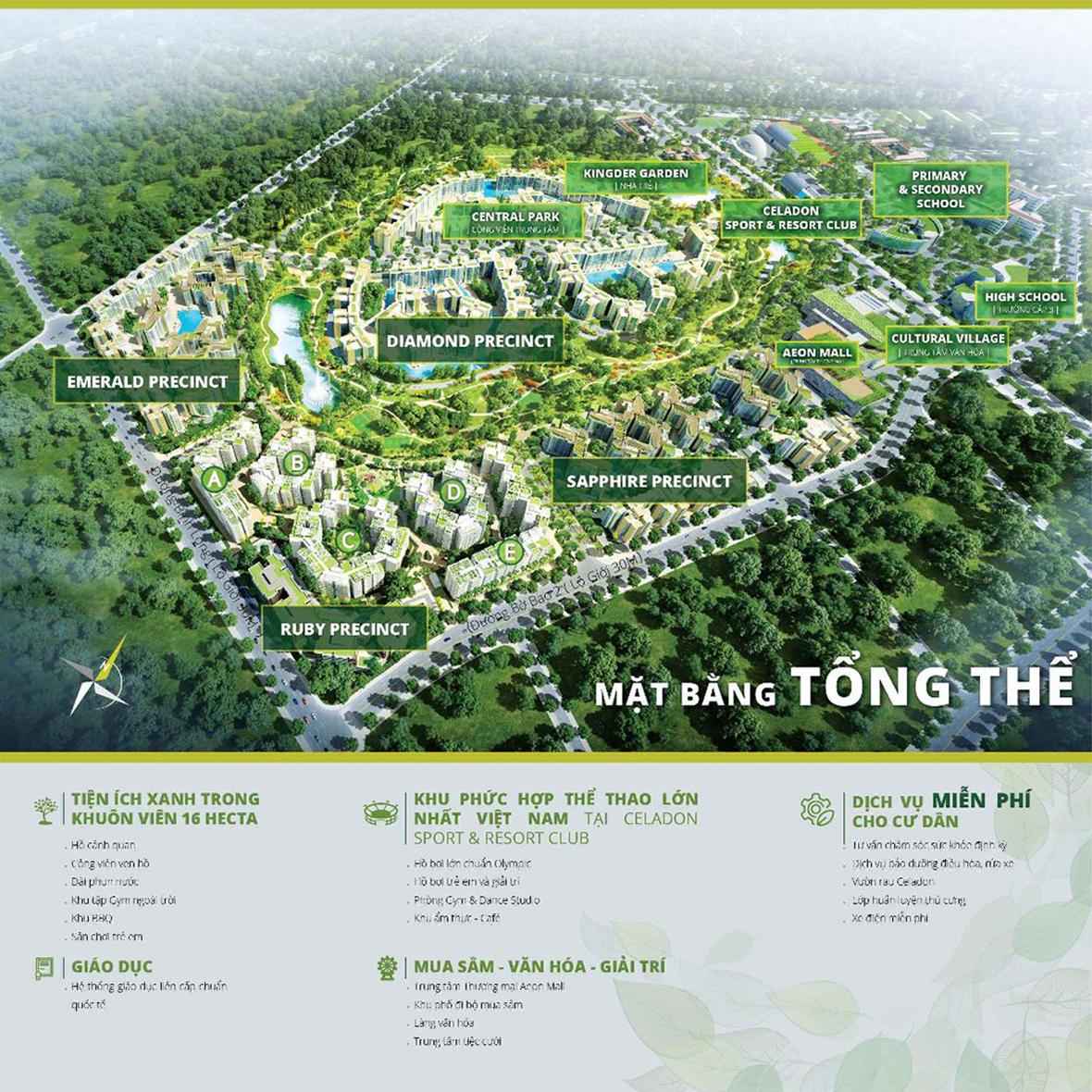Khu đô thị Celadon City Tân Phú – Thành phố xanh và hiện đại bậc nhất Sài Gòn. 4